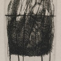 George Wallace - Rock Form - etching - 1986