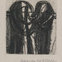George Wallace - Clay Pit #3 - etching - 1986
