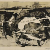 George Wallace - Untitled, 1960, lithograph