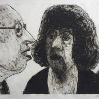 George Wallace - Legal Advice, 1997, monotype